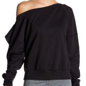 Free people movement one shoulder sweater XS
